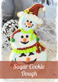 Christmas Sugar Cookie Dough
