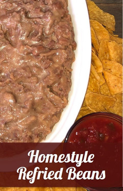 Homestyle Refried Beans Recipe
