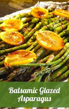Balsamic Glazed Asparagus Recipe