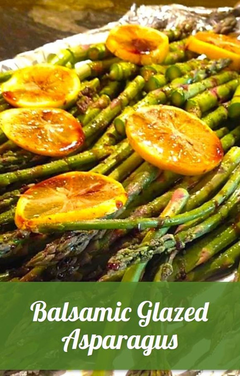 Balsamic Glazed Asparagus Recipe