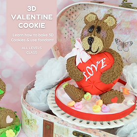 3D Valentine Cookie