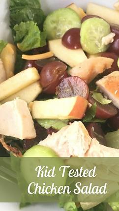 Kid Tested Chicken Salad Recipe