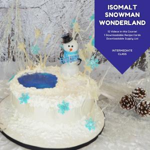 Isomalt Snowman Wonderland