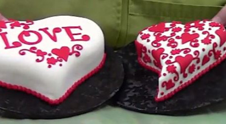 Make a Valentine Cake just like a Pro!
