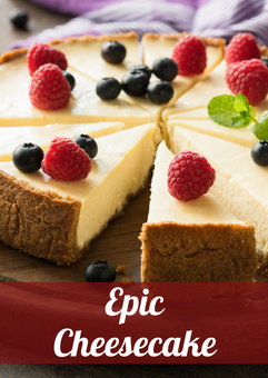 Epic Cheesecake Recipe