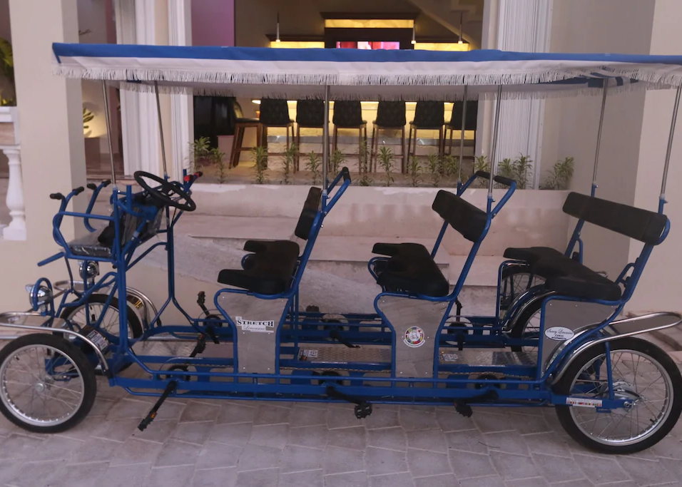 surrey cart provided for easy transport