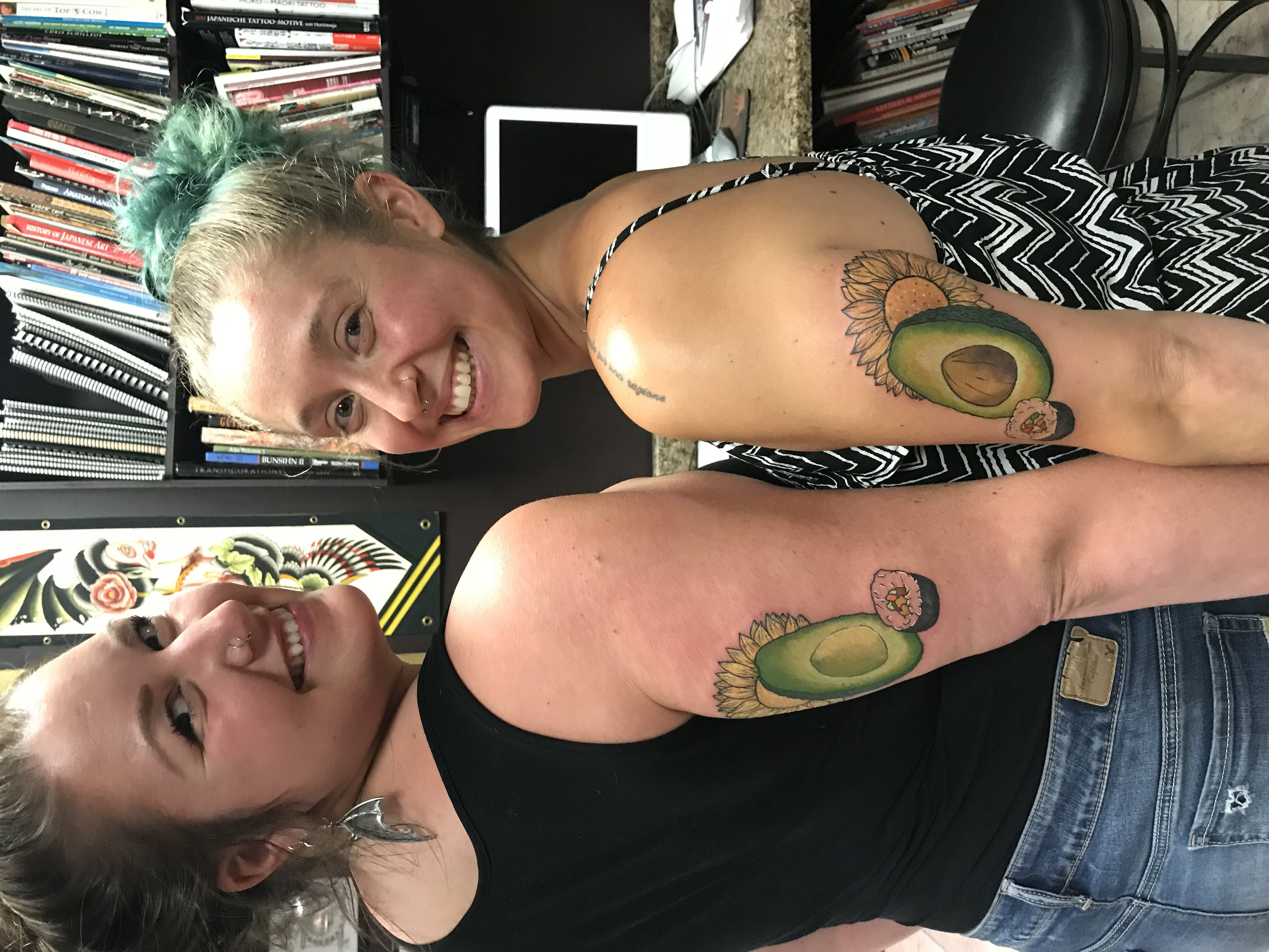 lallentattoo - Avocados and Sushi