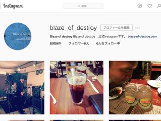 公式instagram開設