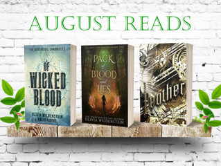 My Reads - August 2021