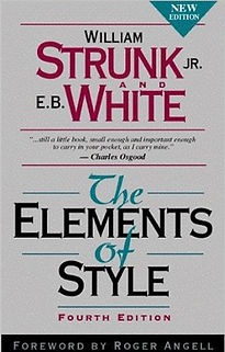 The Elements of Style - William Strunk JR & E.B White
