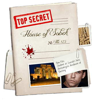 Secret Dossier held by the Guardians of the Ankh on the House of Sobek through time.
