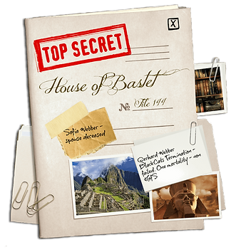 Secret Dossier held by the Guardians of the Ankh on the House of Bastet through time.