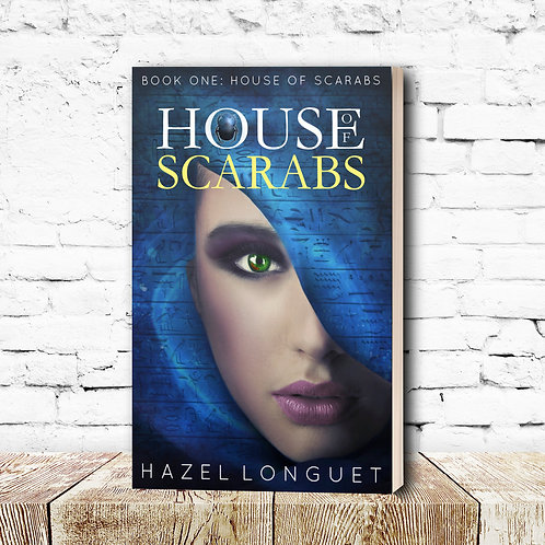 House of Scarabs Paperback - Signed Edition