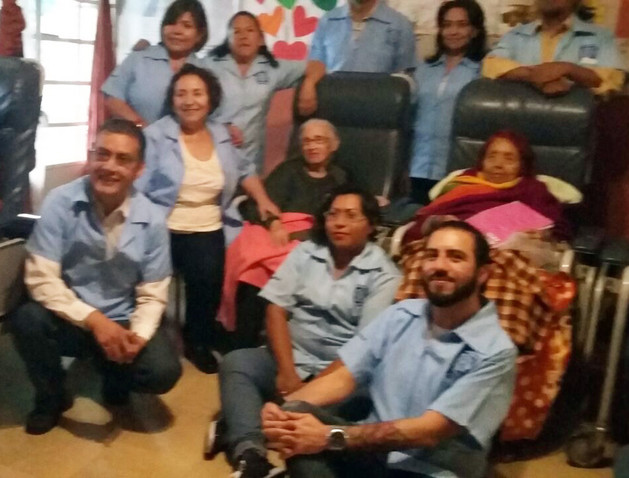 Servicio social en Casa de Retiro