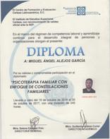 Diploma Constelaciones Familiares y Psicoterapia