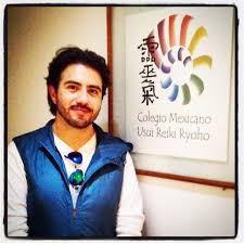 Mike Aryan en el Colegio Mexicano de Reiki
