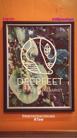 DeepFeet Certified