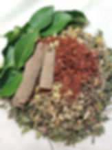 Herbs used in holistic massage treatments