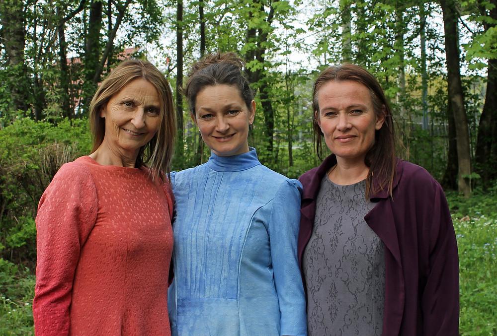 Gro Ann Uthaug, Helena Klarén og Eline Holbø Wendelbo