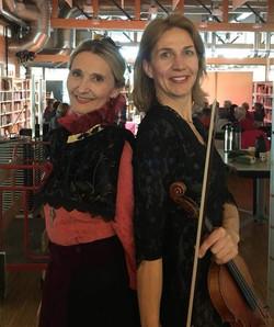 Gro Ann Uthaug og Marieke Bettman