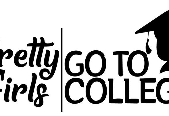 Pretty Girls Go to College Logo    Vecto