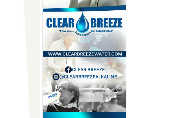 Clear Breeze Water Retractable     Banne