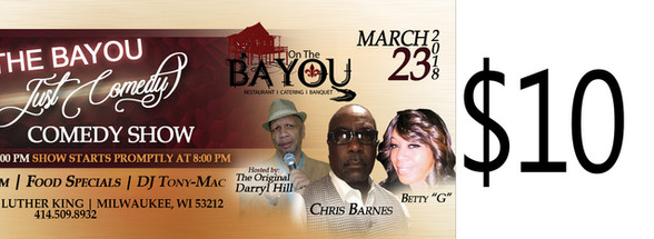 On the Bayou Comedy ticket.jpg