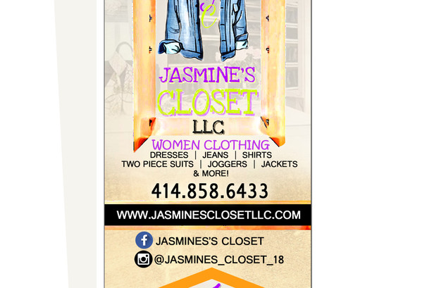 Jasmines Closet LLC Retractable     Bann