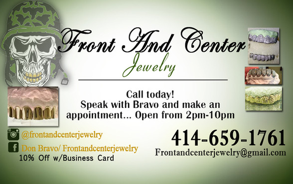 Front and center jewelry Business Card.j