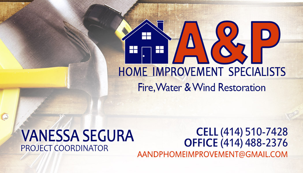 Vanessa Segura A and p home improvement
