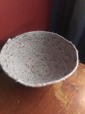 Cloth Bowl Made From Clothing