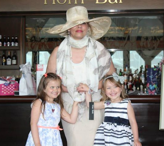 My mom with two beautiful young ladies !