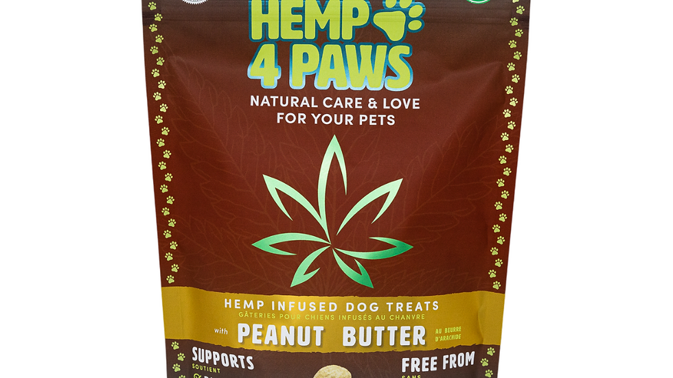Hemp Dog Treats – PEANUT BUTTER