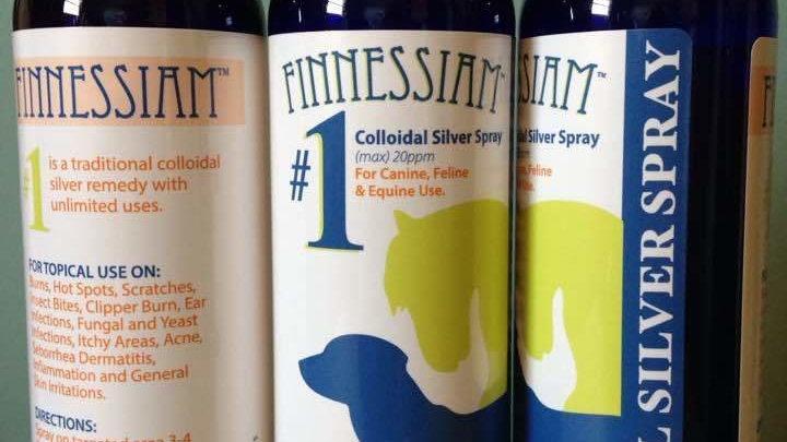 Finnessiam's #1 - Colloidal Silver Spray