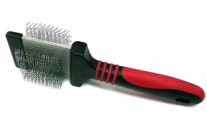 Flexible Double Sided Soft Slicker Brush