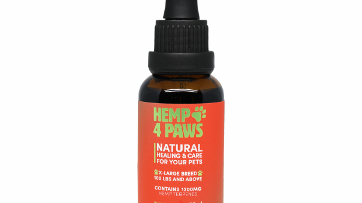 Extra Large Breed (pets above 100lb) – 1200mg