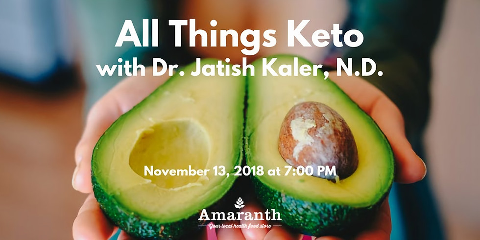 All Things Keto with Dr. Jatish Kaler