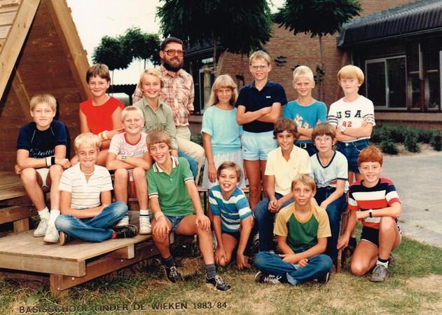 1983-1984-Klas Meester Stelten