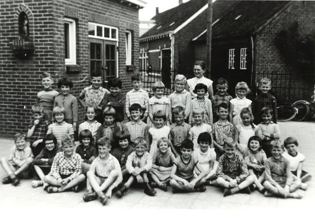 Klasse foto 1960