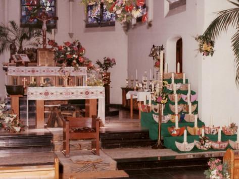 Versiering altaar