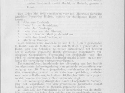 1933  |  VERNIEUWING STATUTEN