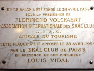 LES JEUDI DU SKÅL PARIS - Rendez-vous Digital du Tourisme - Jeudi 17 juillet 2016 de 18h30 à 20h30