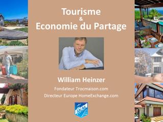 Tourisme & Economie du Partage - Paris - Jeudi 31 mars 2016 de 20h00 à 22h00