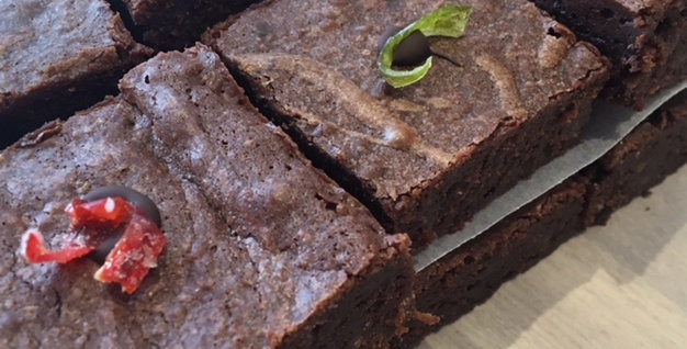 Dark Chilli Chocolate Brownies