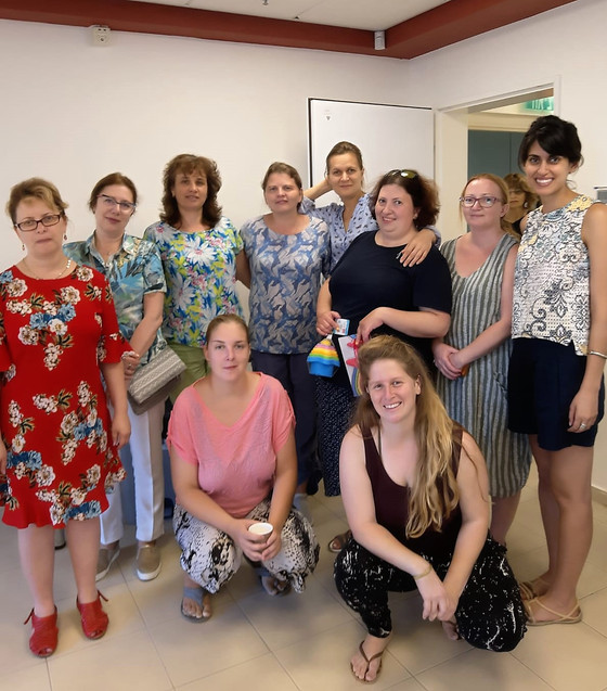 Educators' Kibbutz Takes Pride in Lionesses of Akko Women's Group