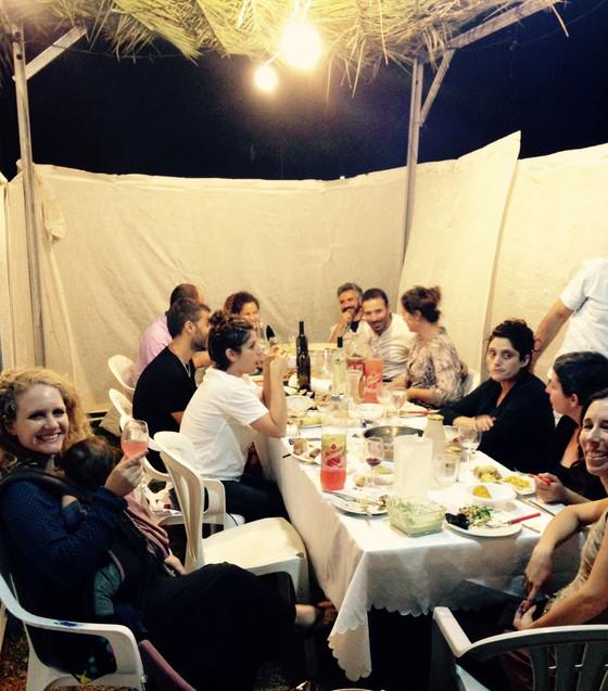 Under the Stars: Sukkot at the Educators' Kibbutz