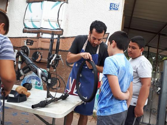 Wheels for All: Ogen Members Roll Out Bikes for Needy Kids on Yom Kippur