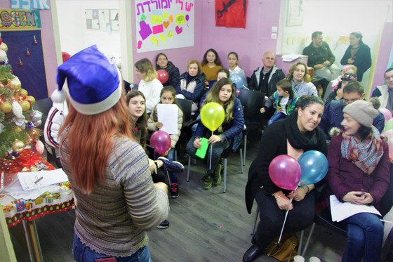 Snovem Godem and Happy New Year! Ogen Club Opens Arms to FSU Immigrants