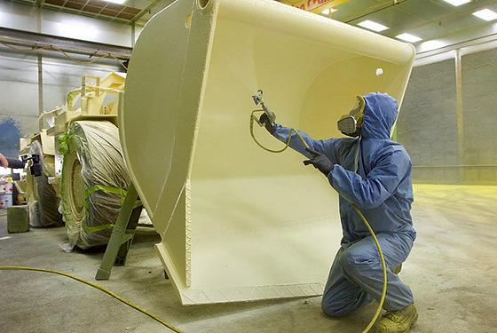 Métalisation et peinture Phosphatante sur pièce métal à Lyon