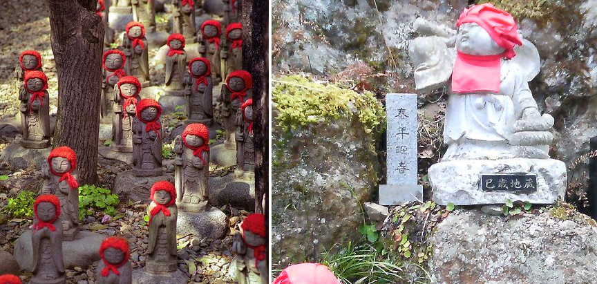Jizō Statues and the Riverbed of Souls